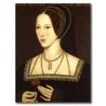 """Anne Boleyn"" by an unknown artist, Hever Castle, Kent."